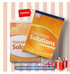 Книги Solutions Upper-intermediate Students book & workbook (комплект: учебник и рабочая тетрадь) Oxford University Press