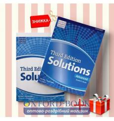 Книги Solutions Advanced Students book & workbook (комплект: учебник и рабочая тетрадь) Oxford University Press