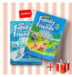 Книги Family and friends 1 Class book & workbook (комплект: учебник и рабочая тетрадь) Oxford University Press