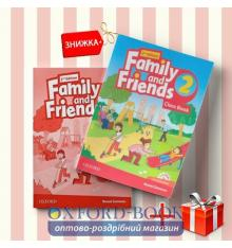 Книги Family and friends 2 Class book & workbook (комплект: учебник и рабочая тетрадь) Oxford University Press