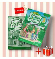Книги Family and friends 3 Class book & workbook (комплект: учебник и рабочая тетрадь) Oxford University Press