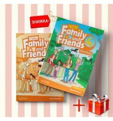 Книги Family and friends 4 Class book & workbook (комплект: учебник и рабочая тетрадь) Oxford University Press