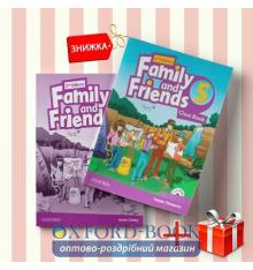 Книги Family and friends 5 Class book & workbook (комплект: учебник и рабочая тетрадь) Oxford University Press