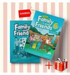 Книги Family and friends 6 Class book & workbook (комплект: учебник и рабочая тетрадь) Oxford University Press