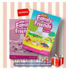Книги Family and friends Starter Class book & workbook (комплект: учебник и рабочая тетрадь) Oxford University Press
