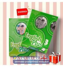 Книги English Plus 3 Students Book & workbook (комплект: учебник и рабочая тетрадь) Oxford University Press ISBN 9780194201575-1
