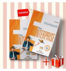 Книги New Enterprise A2 Students Book & workbook (комплект: учебник и рабочая тетрадь) Express Publishing ISBN 9781471569678-1