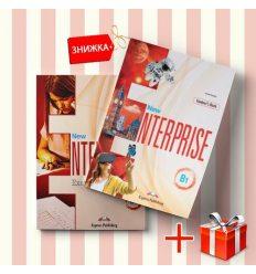 Книги New Enterprise B1 Students Book & workbook (комплект: учебник и рабочая тетрадь) Express Publishing ISBN 9781471569906-1
