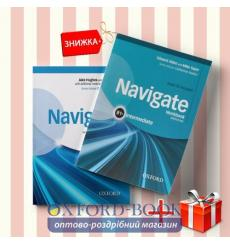 Книги Navigate intermediate b1+ Coursebook & workbook (комплект: Підручник и Робочий зошит) Oxford University Press