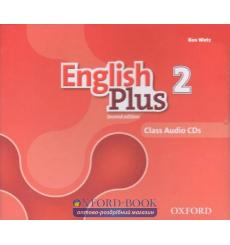 English Plus 2nd Edition 2: Class Audio CDs