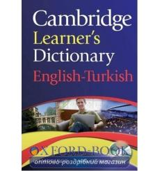 Cambridge Learners Dictionary English-Turkish with CD-ROM ISBN 9780521736435 купить Киев Украина