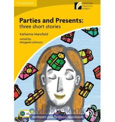 Книга Parties & Presents: Three Short Stories + Downloadable Audio ISBN 9788483238363 купить Киев Украина