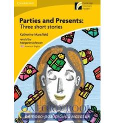 Книга Parties & Presents: Three Short Stories + Downloadable Audio (US) ISBN 9780521181594 купить Киев Украина