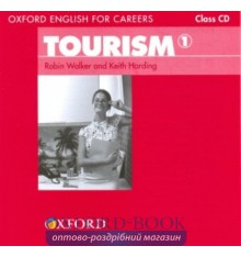 Диск Oxford English for Careers: Tourism 1 Class Audio CD ISBN 9780194551021