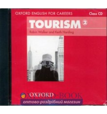 Диск Oxford English for Careers: Tourism 2 Class Audio CD ISBN 9780194551052