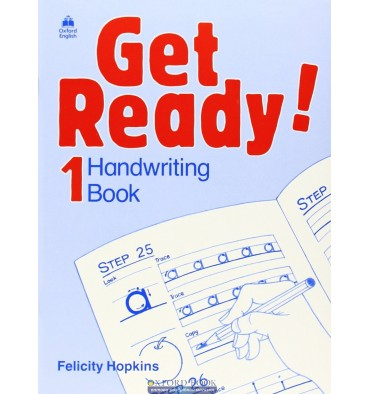 Get Ready! 1: Handwriting Book