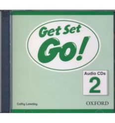 Диски для класса Get Set Go! 2: Class Audio CDs (2) ISBN 9780194918077