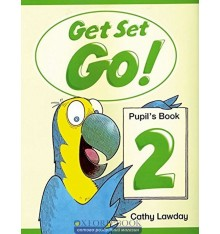 Учебник Get Set Go ! 2 Students Book ISBN 9780194351003