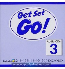Диски для класса Get Set Go! 3: Class Audio CDs (2) ISBN 9780194918084