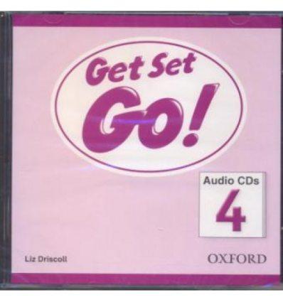 Get Set Go! 4: Class Audio CDs (2)