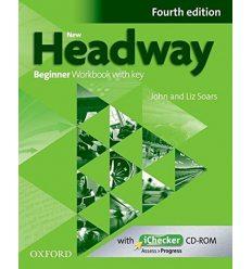 New Headway Beginner: Workbook with Key with iChecker CD-ROM