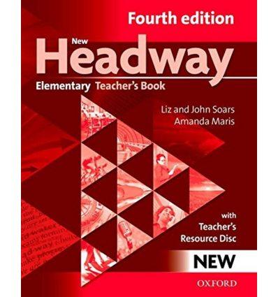 New Headway Elementary: Teacher's Book with Teacher's Resource CD-ROM