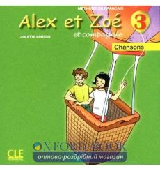 Alex et Zoe Nouvelle edition 3 CD audio individuel