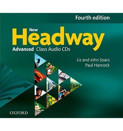 New Headway Advanced Class Audio CDs (4)