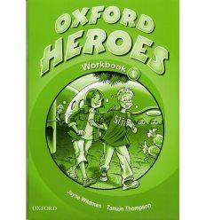 Рабочая тетрадь Oxford Heroes 1 Workbook ISBN 9780194806039
