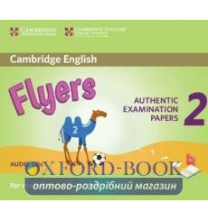 Cambridge English YLE Flyers 2 for Revised Exam 2018 Audio CDs ISBN 9781316636312 купить Киев Украина