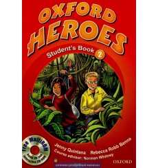Oxford Heroes 2: Student's Book with MultiROM