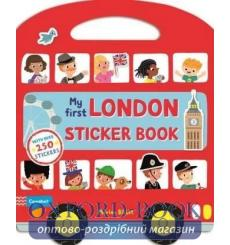 Книга My First London Sticker Book Billet, Marion 9781447276173 купить Киев Украина