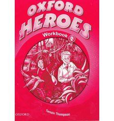 Рабочая тетрадь Oxford Heroes 2 Workbook ISBN 9780194806046