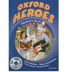 Учебник Oxford Heroes 3 Student Book Pack ISBN 9780194806022