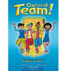 Учебник Oxford Team ! 1 Students Book ISBN 9780194380720