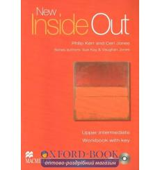 Тетрадь new inside out upper intermediate workbook key and cd 9780230009233 купить Киев Украина