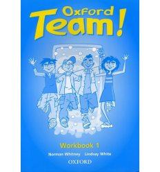 Рабочая тетрадь Oxford Team ! 1 workbook ISBN 9780194379854
