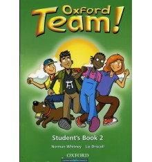 Учебник Oxford Team ! 2 Students Book ISBN 9780194379885