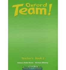 Книга для учителя Oxford Team ! 2 teachers book ISBN 9780194379908