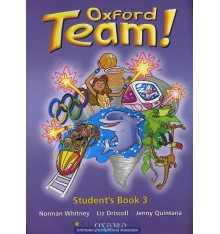 Учебник Oxford Team ! 3 Students Book ISBN 9780194379922
