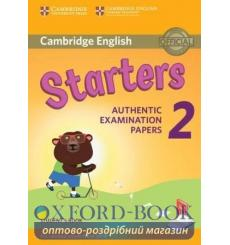 Учебник Cambridge English YLE Starters 2 for Revised Exam 2018 Students Book ISBN 9781316636237 купить Киев Украина