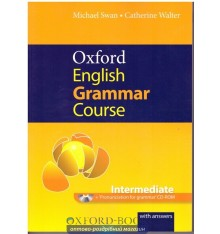 Oxford English Grammar Course Intermediate with Answers CD-ROM Pack ISBN 9780194420822