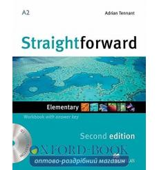 Тетрадь Straightforward Elementary Workbook with key and CD 3rd Edition 9780230423060 купить Киев Украина
