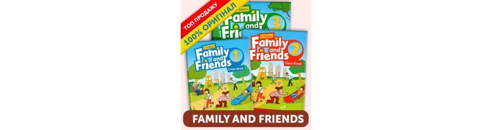 Учебники Family and Friends 1-6