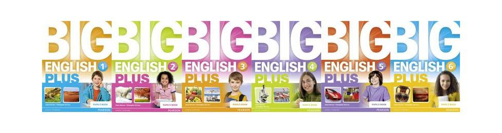 big english 1-2-3-4-5 plus