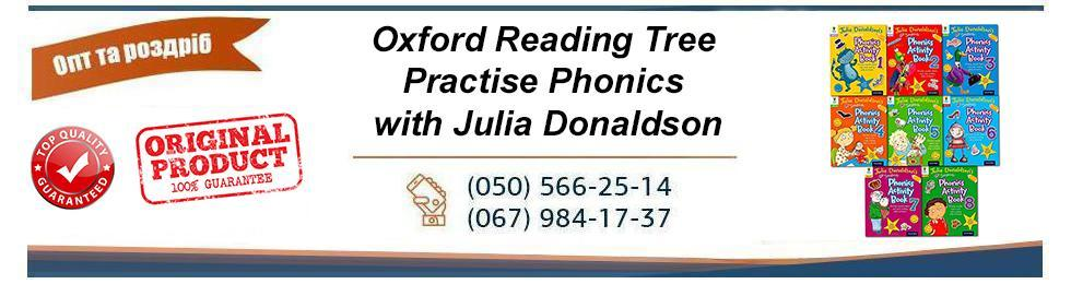 Oxford Reading Tree Practise Phonics with Julia Donaldson