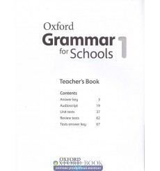 Oxford Grammar for Schools 1: Teacher's Book with Audio CD