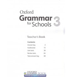 Oxford Grammar for Schools 3: Teacher's Book with Audio CD