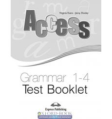 Access 1-4 Grammar Test Booklet