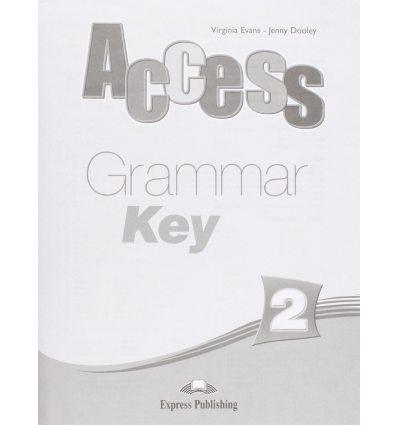 Access 2 Grammar Key